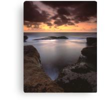 """Gleaming"" ∞ Little Bay, NSW - Australia Canvas Print"