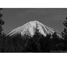 Mount McGlaughlin, Medford Oregon Photographic Print