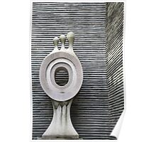 Stone Wall, Stone Sculpture Poster