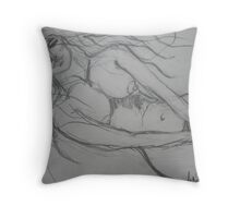 Water Dreaming Throw Pillow