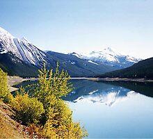 Medicine Lake, Jasper National Park, Alberta, Canada by Adrian Paul