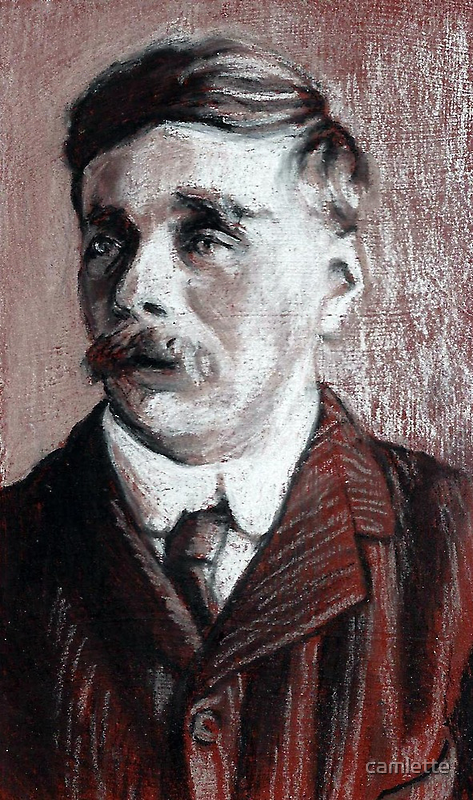 Altered, H. G. Wells by Cameron Hampton