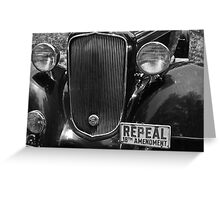 Repeal 18th Amendment Greeting Card