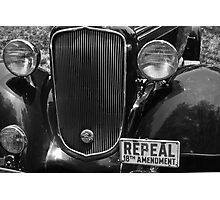 Repeal 18th Amendment Photographic Print