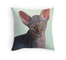 Sunitha (Sphynx) Throw Pillow