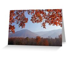 Layers of Autumn Greeting Card