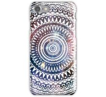 Circle Nebular Aztec iPhone Case/Skin
