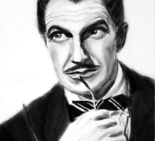 Vincent Price by MaireHarlow