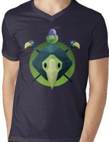 Low-Poly Plague Knight Mens V-Neck T-Shirt