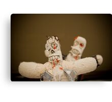 Zombie Doll Attack-1 Canvas Print