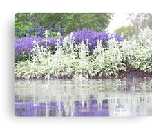 Water, or a puddle,  Can you tell ? Canvas Print