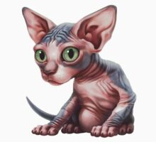Cat-a-clysm: Sphynx kitten - Classic One Piece - Short Sleeve