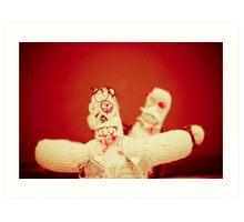 Zombie Doll Attack-2 Art Print
