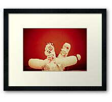 Zombie Doll Attack-2 Framed Print