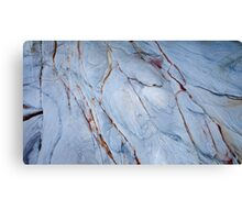 Patterns in the Rock 1 Canvas Print