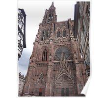 Notre Dame De Strasbourg Poster