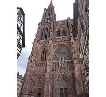 Notre Dame De Strasbourg Photographic Print