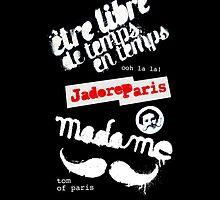 Paris graffiti by plopsyk