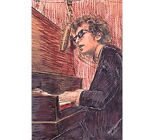 DYLAN AT THE PIANO Photographic Print