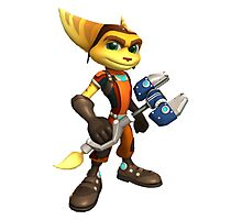 Ratchet & Clank 02 Photographic Print