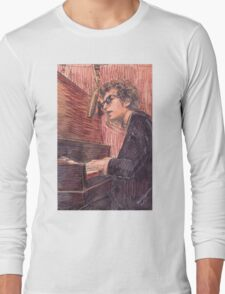 DYLAN AT THE PIANO Long Sleeve T-Shirt