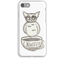 CAWFEE Owl iPhone Case/Skin