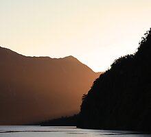 A Doubtful Sunset by Mark Bird