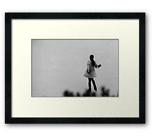 'The Skater' Framed Print