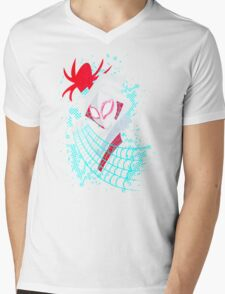 Spider-Gwen TAS Mens V-Neck T-Shirt