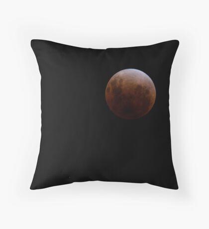 Lunar Eclipse - December 10 2011 Throw Pillow