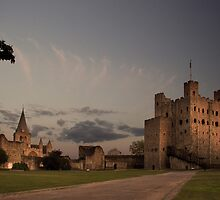 Rochester Castle, Kent, UK by Mike Franklin