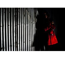 Red Coat Photographic Print