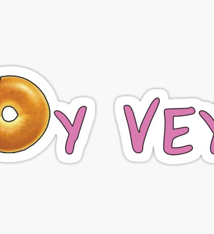 Oy Vey! Sticker