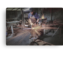 Australian Pioneer Village - The Blacksmith Canvas Print