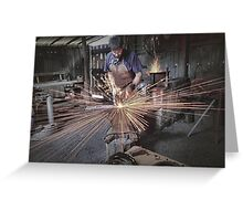 Australian Pioneer Village - The Blacksmith Greeting Card