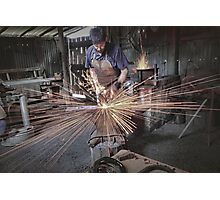 Australian Pioneer Village - The Blacksmith Photographic Print