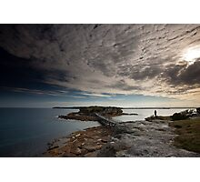 Bare Clouds Photographic Print