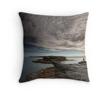 Bare Clouds Throw Pillow