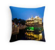 Yu Gardens, Shanghai Throw Pillow