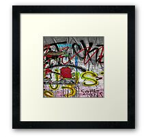 Graffiti #86 Framed Print
