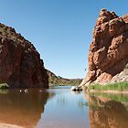 Glen Helen Gorge - Australian Outback by Bearfoote
