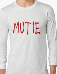 """MUTIE"" Mutant Pride Graffiti  T-Shirt"