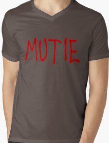"""""""MUTIE"""" Mutant Pride Graffiti  Mens V-Neck T-Shirt"""