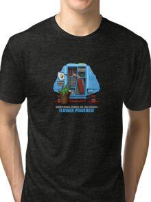 Silent Running, Flower Powered (Dewey Maintenance Drone 01) Tri-blend T-Shirt