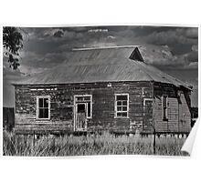 Rustic Rural Ruin Poster