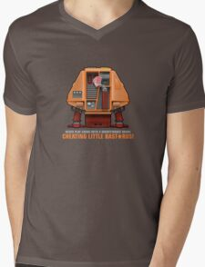 Silent Running, Card Shark (Huey Maintenance Drone 02) Mens V-Neck T-Shirt