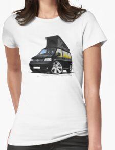 VW T5 California Camper Van Black T-Shirt