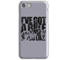 I've Got A Bike iPhone Case/Skin