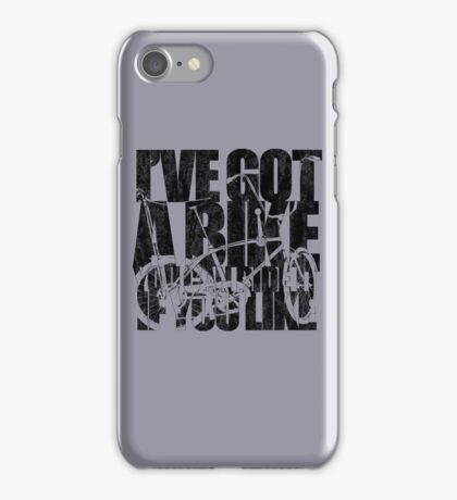 I've Got A Bike iPhone Case/Skin