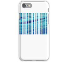 blue code iPhone Case/Skin